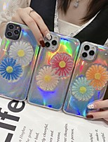 cheap -Case For Apple iPhone 7 7Plus iPhone 8 8Plus iPhone X iPhone XS XR XS max iPhone 11 11 Pro 11 Pro Max SE Pattern Back Cover Transparent Flower TPU