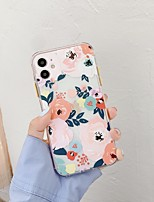 cheap -Case For  iPhone 7 8 7plus 8plus X XR XS XSMax SE(2020) iPhone 11 11Pro 11ProMax Shockproof Pattern Back Cover Cartoon Flower TPU