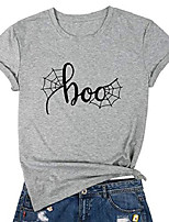 cheap -women casual tee of happiness comes in waves, short sleeve round neck graphic t-shirt for lady, blue & #40;boo gray, medium& #41;