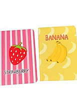 cheap -Case For Apple iPad Pro 11  Ipad Pro 11 inches 2020 with Stand Flip Full Body Cases PU Leather TPU Protective Stand Cover Pattern cute lovely fruit banana strawberry embossed