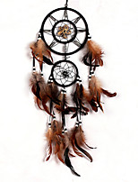 cheap -Dreamcatcher - Feather Vintage 1 pcs Wall Decorations