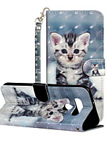 cheap -Case For LG LG K51 Stylo 6 Card Holder Flip Full Body Cases sky Animal PU Leather
