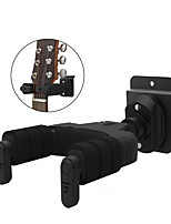 cheap -NAOMI Auto Lock Guitar Hanger Hook Holder Slat Wall Mountable For Acoustic Folk Classic Electric Guitar Bass Mandolin