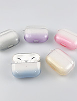 cheap -Case For AirPod Pro Cute Shockproof Translucent Headphone Case Soft