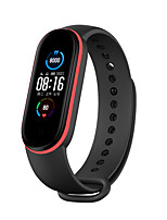 cheap -Replacement Bracelet Strap for Xiaomi Mi Band 5 Double Colors Sport Strap Silicone Wrist Strap