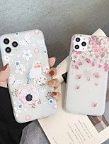 cheap -Case For iPhone 5 5C 5S SE 6 6s 7 8 6plus 6splus 7plus 8plus X XR XS XSMax SE(2020) iPhone 11 11Pro 11ProMax Ultra-thin Transparent Pattern Back Cover Butterfly Animal Flower TPU