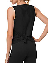 cheap -workout tops for women, mesh sleeveless yoga tops & #40;9 colors& #41; & #40;black-2, x-large& #41;