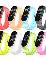 cheap -Watch Band for Xiaomi Band 4 Xiaomi Sport Band Silicone Wrist Strap