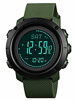 cheap -mens compass watch, digital sports watch pedometer altimeter barometer temperature military waterproof wristwatch for men women litbwat