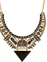cheap -Women's Resin Choker Necklace Classic Number Vintage Alloy Gold Silver 50 cm Necklace Jewelry 1pc For Anniversary Street Festival