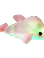 cheap -Stuffed Animal Plush Toy Dolphin Lighting Gift Glow in the Dark Plush Imaginative Play, Stocking, Great Birthday Gifts Party Favor Supplies Boys and Girls Kid's
