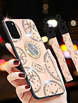 cheap -Case For Samsung Galaxy S7Edge S20 S20Plus S20Ultra Note 8 9 10 J2Prime  J5Prime J7Prime J4Prime J8 A6Plus A51 A71 Rhinestone Ring Holder Pattern Back Cover Word Phrase TPU
