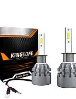 cheap -2PCS LED 6000LM Mini Car Headlight Bulbs K3-9005-9006-H1-H7-H11 Auto Lamps 6000K IP68 Waterproof