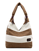 cheap -Women's Bags Canvas Top Handle Bag / Hobo Bag Zipper for Daily / Date Black / Blue / Fuchsia / Gray