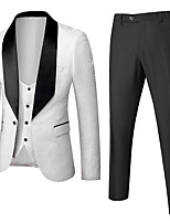 cheap -Tuxedos Tailored Fit Shawl Collar Single Breasted One-button Polyester Solid Color