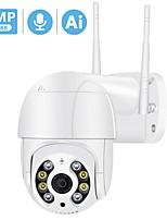 cheap -3MP PTZ Wireless IP Camera Waterproof 4X Digital Zoom Speed Dome Super 1080P WiFi Security CCTV Camera Audio AI Human Detection