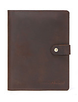 cheap -Case For Apple iPad Mini 5 4 3 2 1 Flip Full Body Cases Solid Colored Genuine Leather vintage soft smooth handle Card Holder Shockproof  Tablet buckle notebook folder