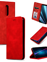 cheap -Case For Sony XZ4 Xperia 1 Xperia 10 XA3 Xperia 10 Plus Card Holder Flip Full Body Cases Solid Colored PU Leather TPU