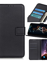 cheap -Case For Samsung Galaxy X Cover 4 X Cover 4S S8 A8 A8 Plus S9 S9 Plus A6 A6 Plus Note 9 A7 A9 S10 S10 Plus S10E Flip Magnetic Full Body Cases Solid Colored PU Leather
