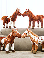 cheap -Stuffed Animal Plush Toy Horse Wild Animals Gift Realistic PP Plush Imaginative Play, Stocking, Great Birthday Gifts Party Favor Supplies Boys and Girls Kid's Adults