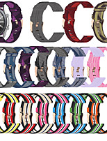 cheap -Watch Band for Galaxy Watch 3 45mm Samsung Galaxy Classic Buckle / Business Band Canvas Wrist Strap