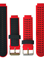 cheap -Watch Band for Forerunner 735 / Forerunner 630 / Forerunner 620 Garmin Sport Band Silicone Wrist Strap