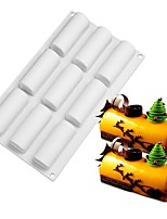 cheap -9 Cavity Silicone Mold for Chocolate Truffle Mousse Cake