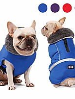 cheap -dog coat supplement, dog tutleneck coats apparel, pet waterproof windproof cloth dogs dogs warm classic soft vest jackets, puppy warm winter coats for small medium large dogs