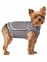 cheap -thunder shirt for dog, dog anxiety jacket, dog anxiety shirt, pet dog calming vest for thunder, anxiety and stress relief blue