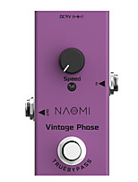 cheap -NAOMI NEP-06 Vintage Phaser Electric Guitar Effect Pedal Mini Single Pedal With True Bypass