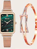 cheap -Women's Quartz Watches Quartz Modern Style Stylish New Arrival Chronograph Analog White Blue Red