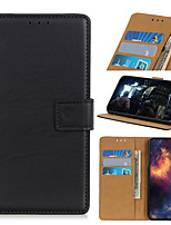 cheap -Case For Nokia Nokia 1.3 Nokia 2.3 Nokia 8.3 Nokia C1 Nokia C2 Card Holder Flip Magnetic Full Body Cases Solid Colored PU Leather TPU