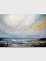 cheap -Hand-Painted Abstract Landscape Painting Canvas Art  Painting Abstract Acrylic Painting Modern Art Textured Art  with Stretcher Ready to Hang With Stretched Frame