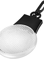 cheap -bullet blinki reflector light (3.3 x 2.6 x 0.4 inches) (white)