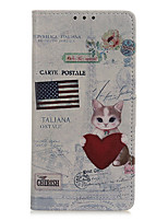 cheap -Case For Samsung Galaxy A01 A21 A41 A70E M11 M31 X Cover Pro A11 A31 A71 A21S A51 Note 20 Note 20 Ultra Flip Magnetic Full Body Cases Animal Eiffel Tower Tree PU Leather