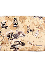 cheap -11.6 12 13.3 14.1 15.6 inch Universal PU Leather Bear print Water-resistant shockproof Laptop Sleeve Case Bag for Macbook/Surface/Xiaomi/HP/Dell/Samsung/Sony