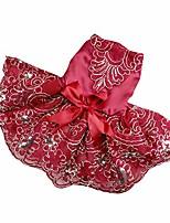 cheap -wakeu small dog girl dress summer pet clothes puppy cat conch shirt apparel (sky blue)