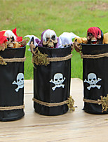 cheap -Halloween Party Toys Halloween Skull Ghost 2 pcs Skull Skeleton Electric with Scary Sound and Glowing LED Red Eyes Plastic Kid's Adults Trick or Treat Halloween Party Favors Supplies