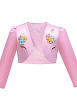 cheap -Princess Unicorn Coat Cosplay Costume Girls' Movie Cosplay Active White / Pink Coat Halloween Children's Day Masquerade Polyester