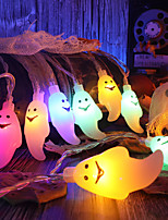 cheap -Halloween Party Toys LED Lighting String Lights Ghost Plastic Kid's Adults Trick or Treat Halloween Party Favors Supplies