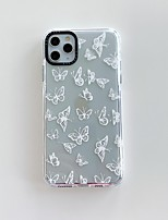 cheap -Case For iPhone 7 8 7 Plus 8 Plus X XS XR XS Max SE 11 11 Pro 11 Pro Max Pattern Back Cover Butterfly TPU