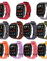 cheap -Watch Band for Amazfit GTS Amazfit Classic Buckle Canvas Wrist Strap