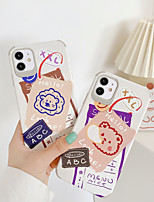 cheap -Case For Apple iPhone 7 7Plus iPhone 8 8Plus iPhone X iPhone XS XR XS max iPhone 11 11 Pro 11 Pro Max Pattern Back Cover Cartoon TPU