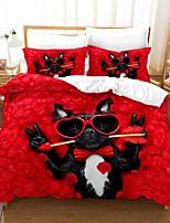 cheap -Christmas Gift Home Textiles 3D Print Bedding Set Duvet Cover Set with Pillowcase 2/3pcs Bedroom Duvet Cover Sets