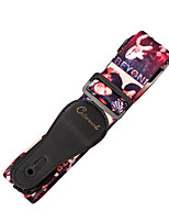 cheap -NAOMI Adjustable Guitar Strap Colorful Printing Nylon Strap for Acoustic Electric Guitar and Bass