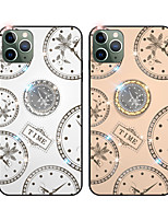 cheap -Case For Apple iPhone 6 6s 7 8 6plus 6splus 7plus 8plus X XR XS XSMax SE(2020) iPhone 11 11Pro 11ProMax  Rhinestone Ring Holder Pattern Back Cover Word Phrase TPU