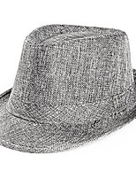 cheap -2020 unisex top gangster cap beach sun straw hat band sunhat outdoor cap & #40;gray& #41;