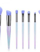 cheap -Professional Makeup Brushes 7pcs Professional Soft Full Coverage Comfy Plastic for Blush Brush Foundation Brush Makeup Brush Eyeshadow Brush