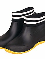 cheap -rain shoes for women waterproof garden shoes mens rubber ankle boots non-slip car wash footwear work booties for camping, lawn care, gardening