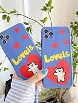 cheap -Case For iPhone 7 plus 8 plus XR XS XS MAX X SE 11 11Pro 11ProMax Pattern Back Cover TPU Word Phrase